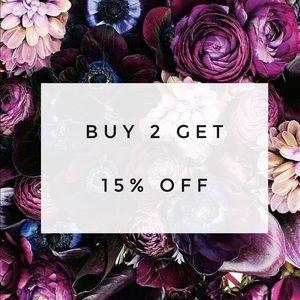 Other - Bundle Sale! Buy 2 get 15% OFF!!!